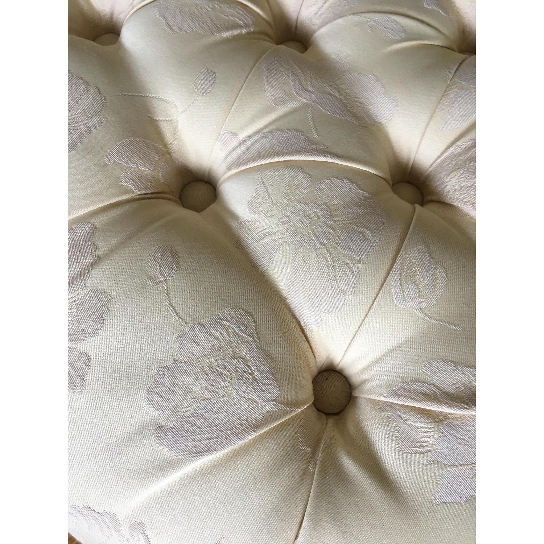 Custom Upholstered Ottoman/Footstool - image-7