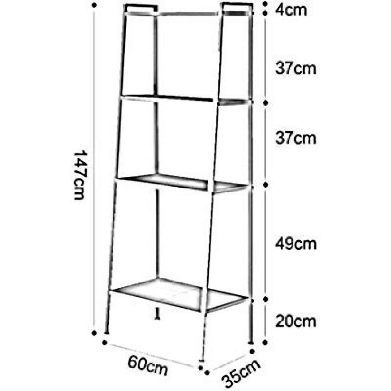 Artistic Chestnut Bookcase - image-2