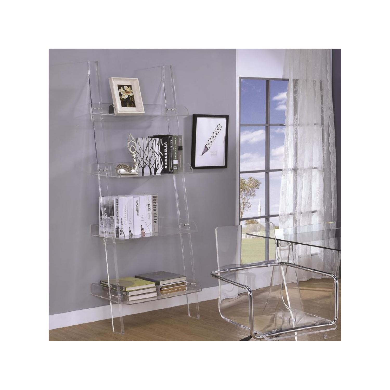 Artistic Chestnut Bookcase - image-4