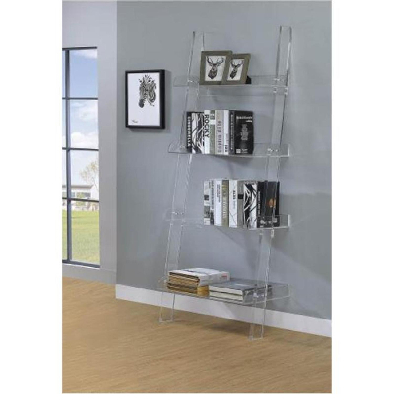 Artistic Chestnut Bookcase - image-5