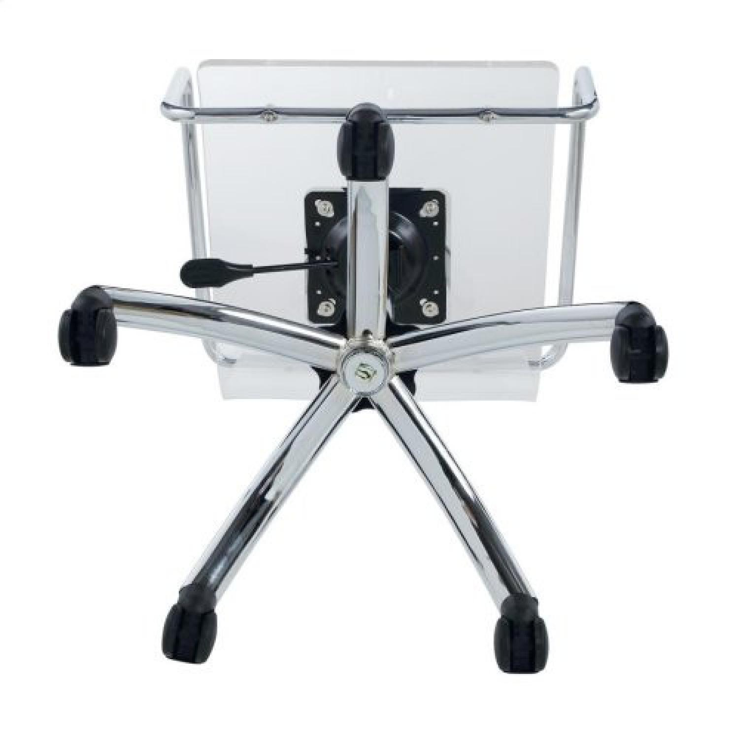 Clear Acrylic Office Chair - image-3