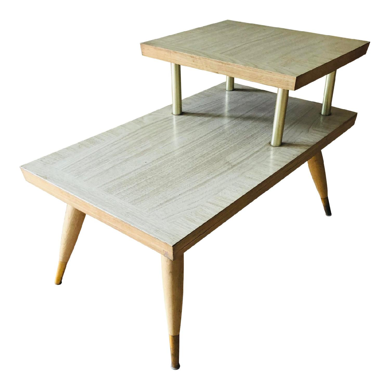 Mid Century Nightstand Side Table Aptdeco