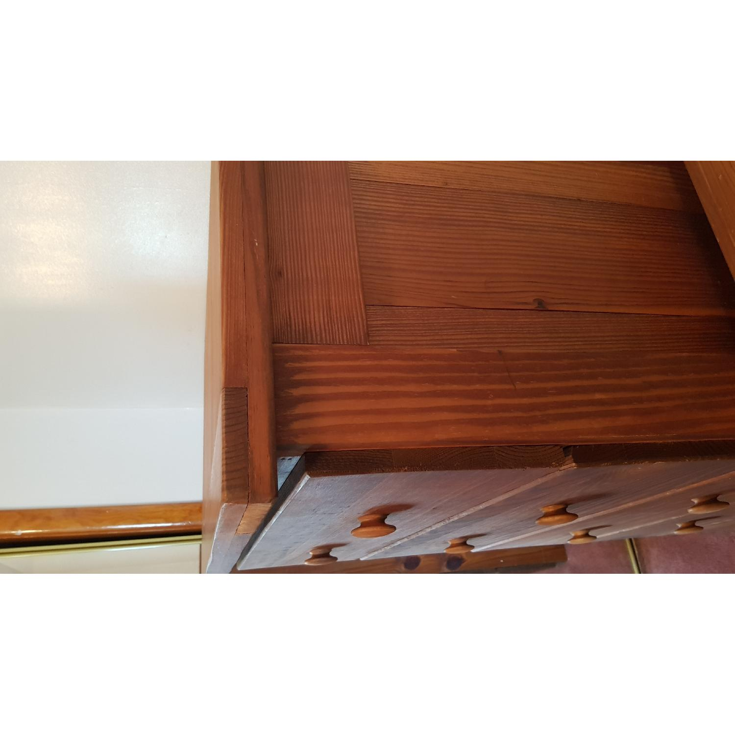 Solid Wood 5 Drawer Chest - image-3