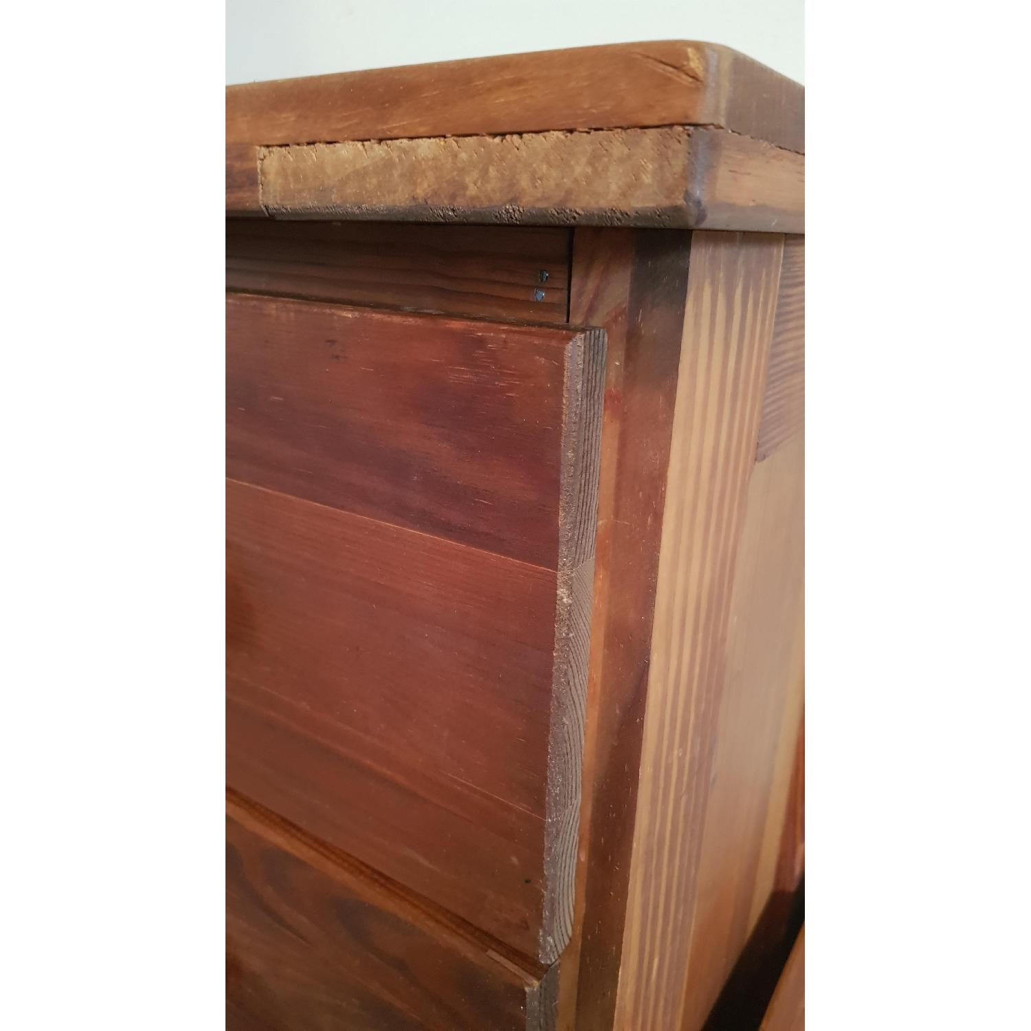 Solid Wood 5 Drawer Chest - image-4