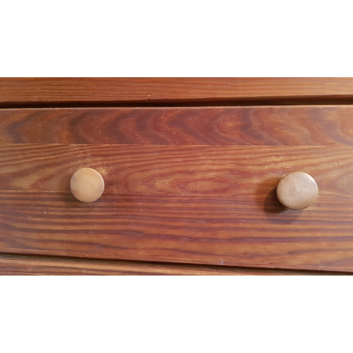 Solid Wood 5 Drawer Chest - image-5