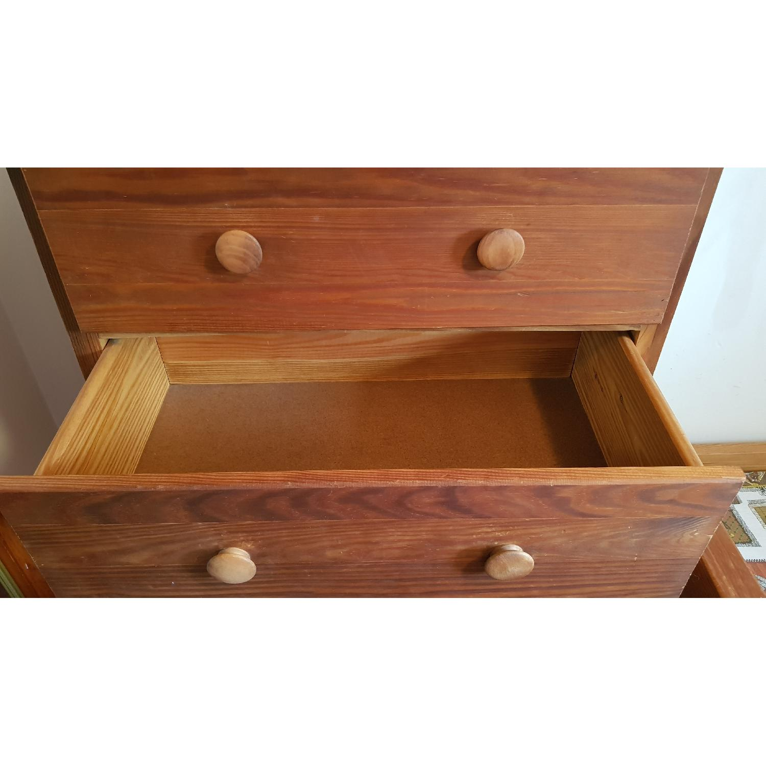 Solid Wood 5 Drawer Chest - image-6