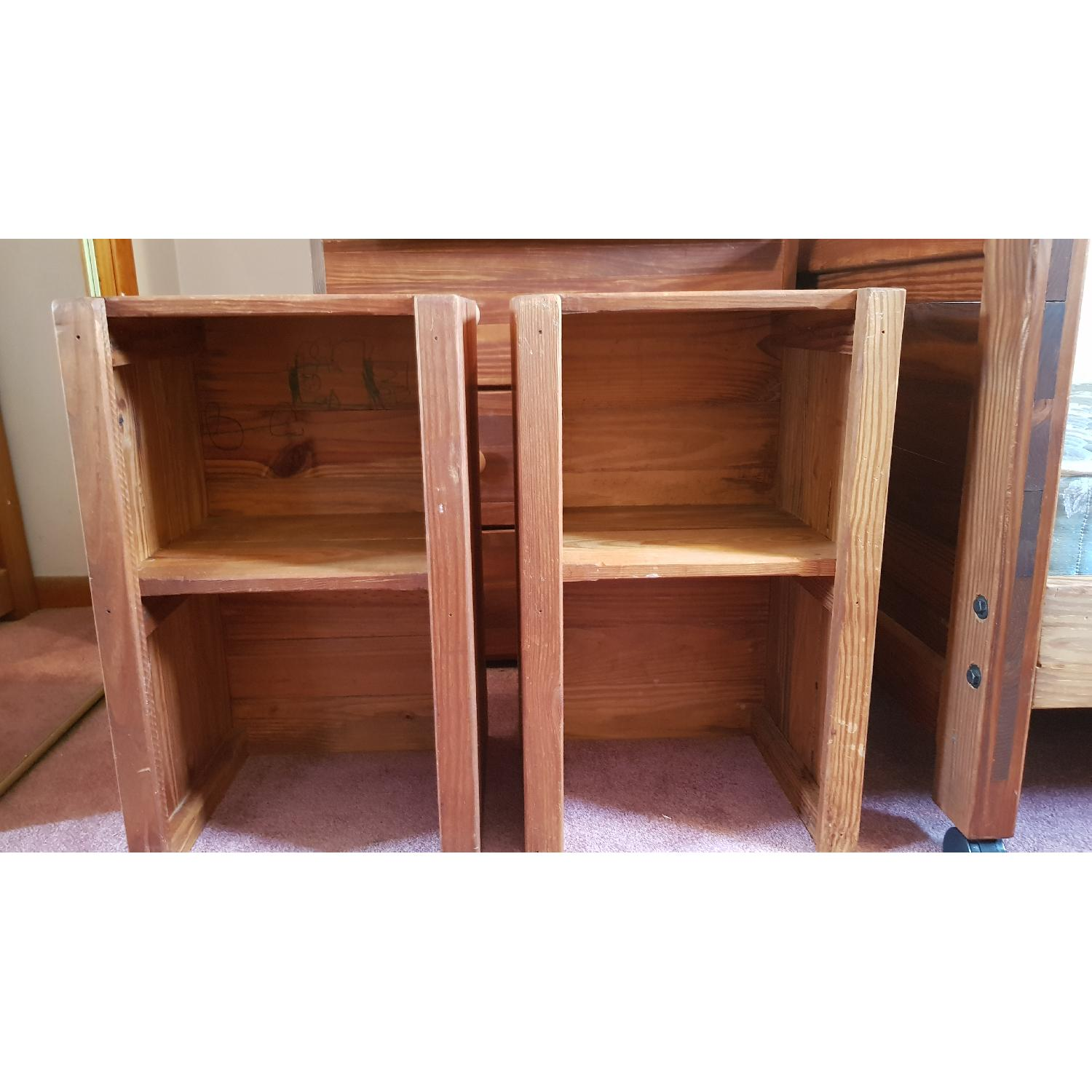 Wood Nightstands/Side Tables - image-1
