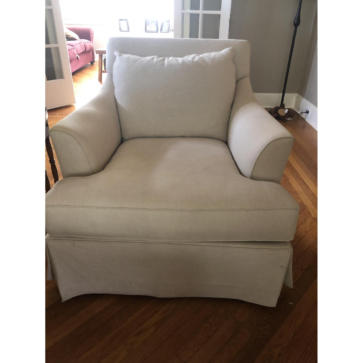 Macy's Natural Accent Chairs - image-1