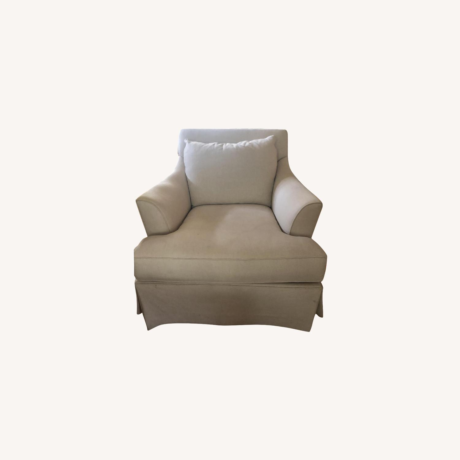 Macy's Natural Accent Chairs - image-0