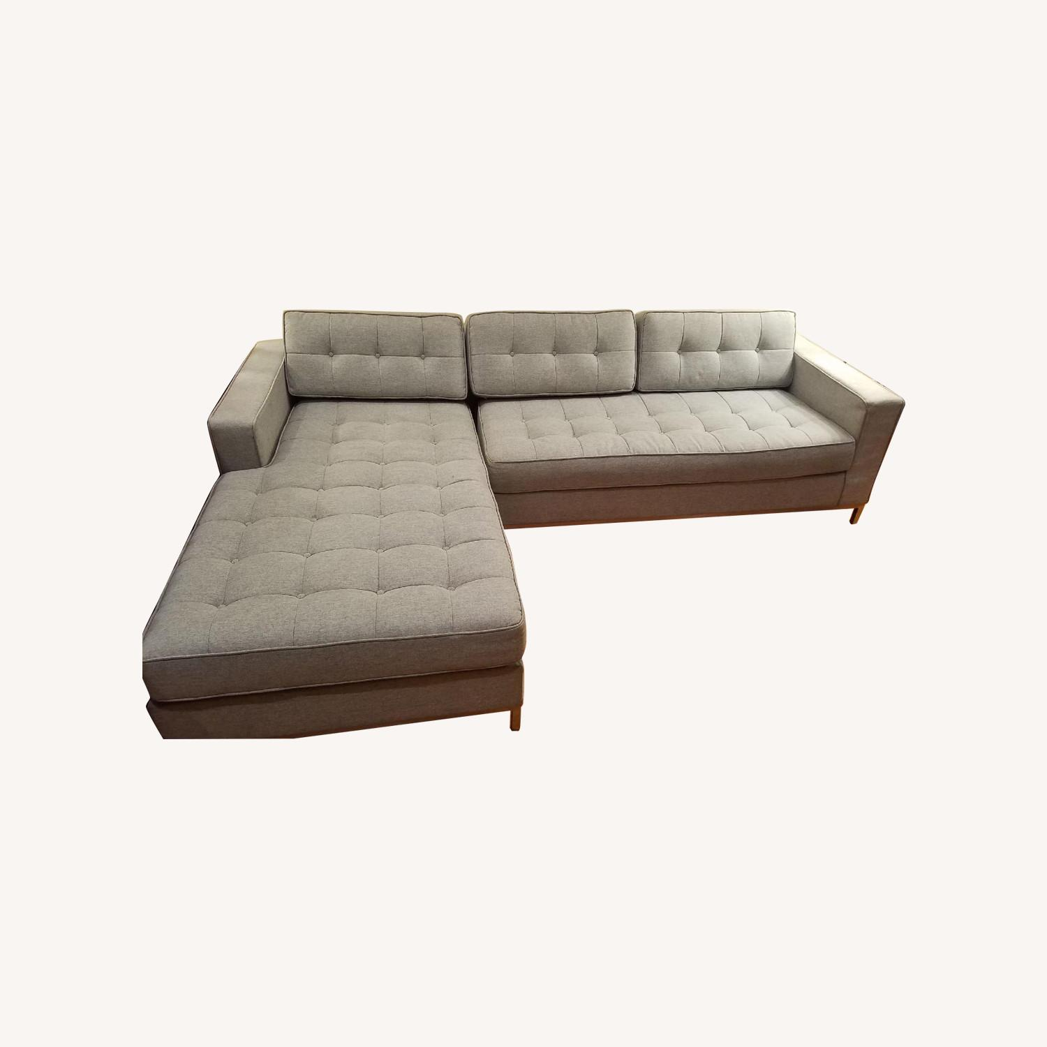 Excellent Gus Modern Jane Bi Sectional Sofa Aptdeco Ibusinesslaw Wood Chair Design Ideas Ibusinesslaworg