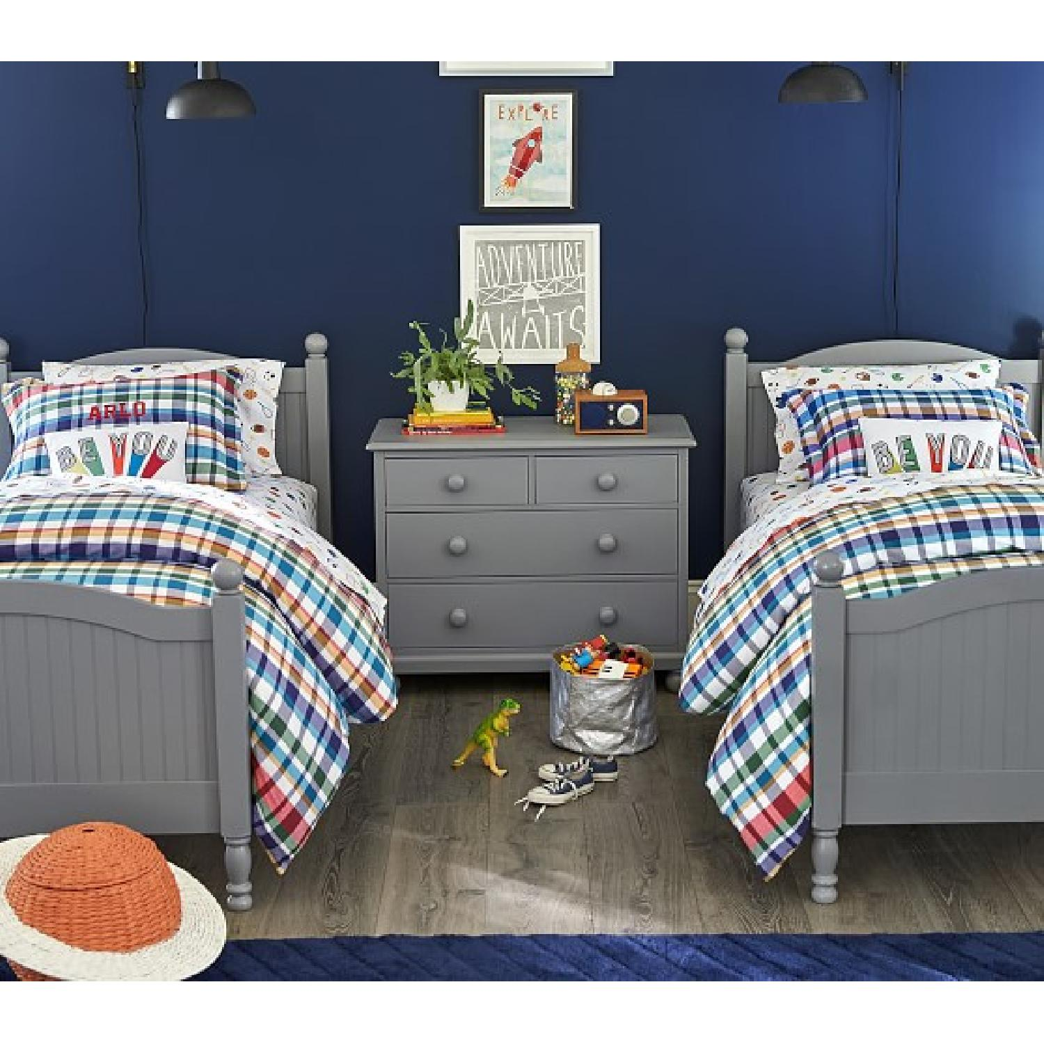 Pottery Barn Catalina Twin Size Bed - image-5