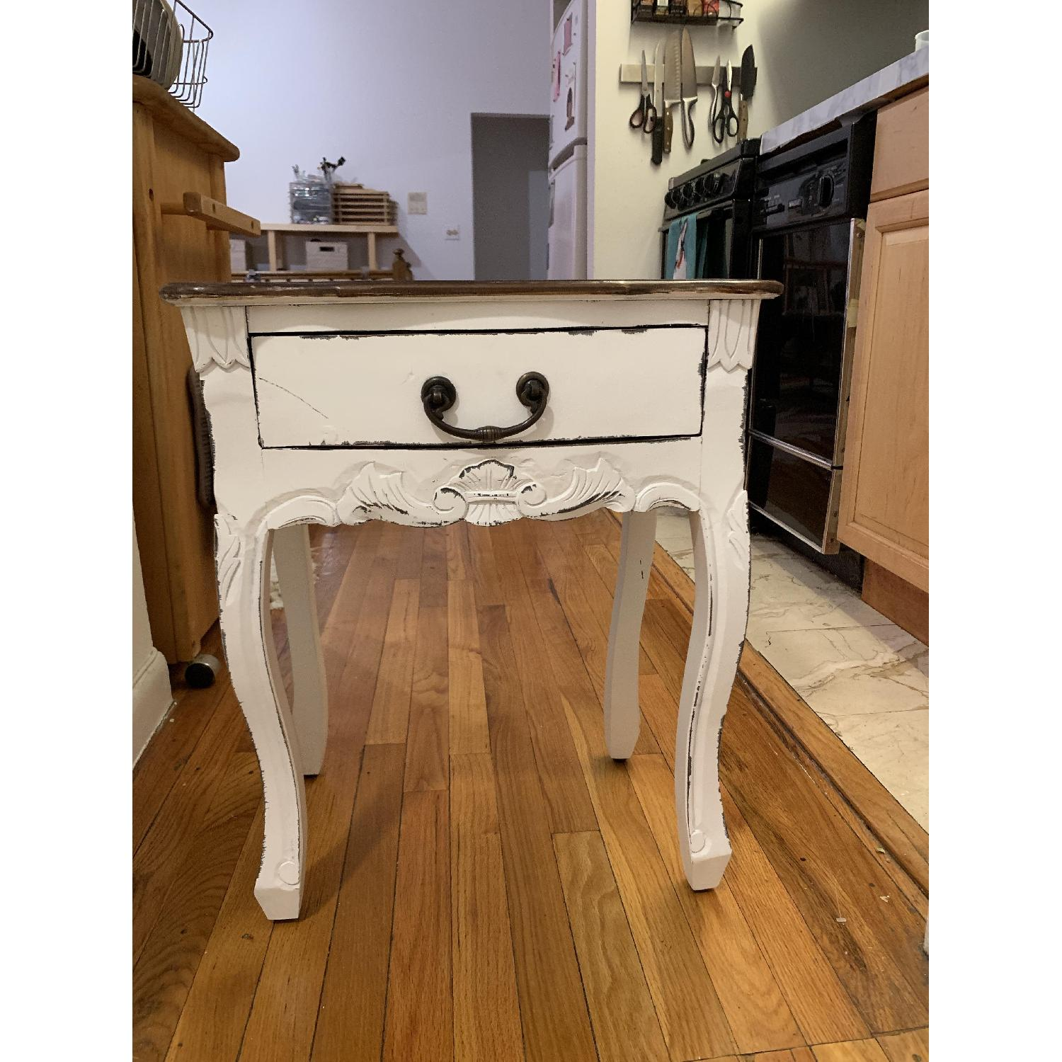 Antique Style Side Table - image-3