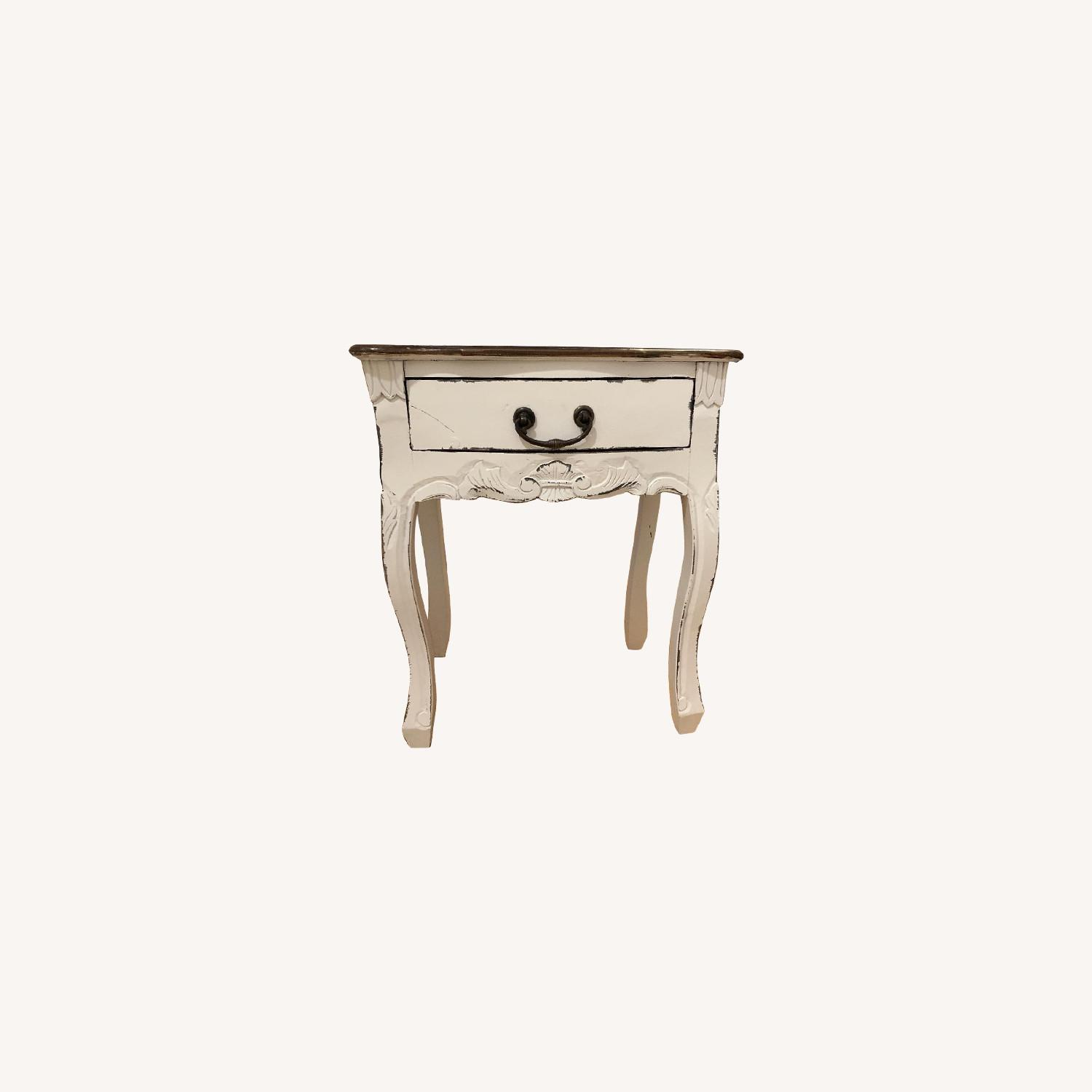 Antique Style Side Table - image-0