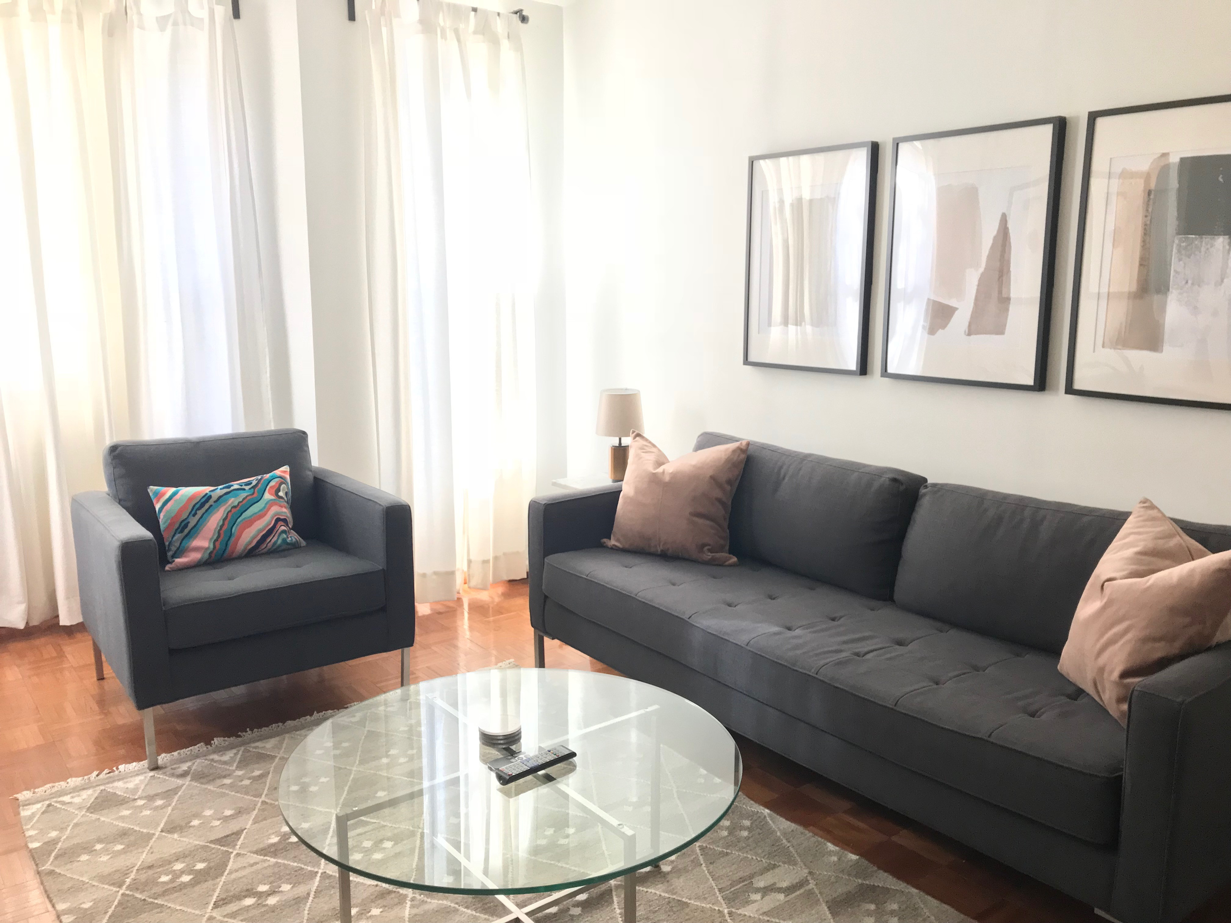 Blue Dot Paramount Sofa + Lounge Chair