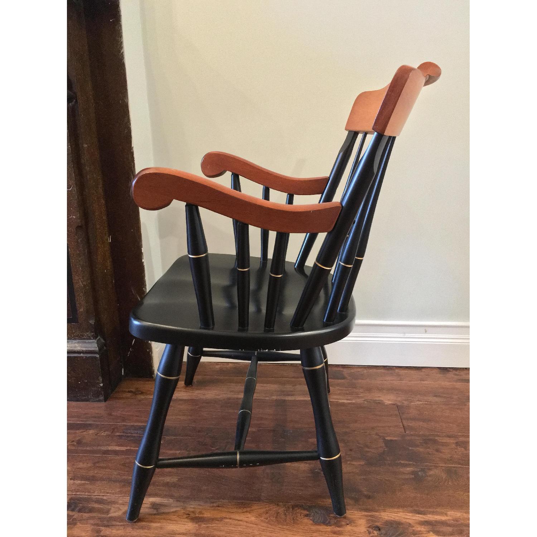 Vintage Nichols & Stone Windsor Harvard Chairs - image-3