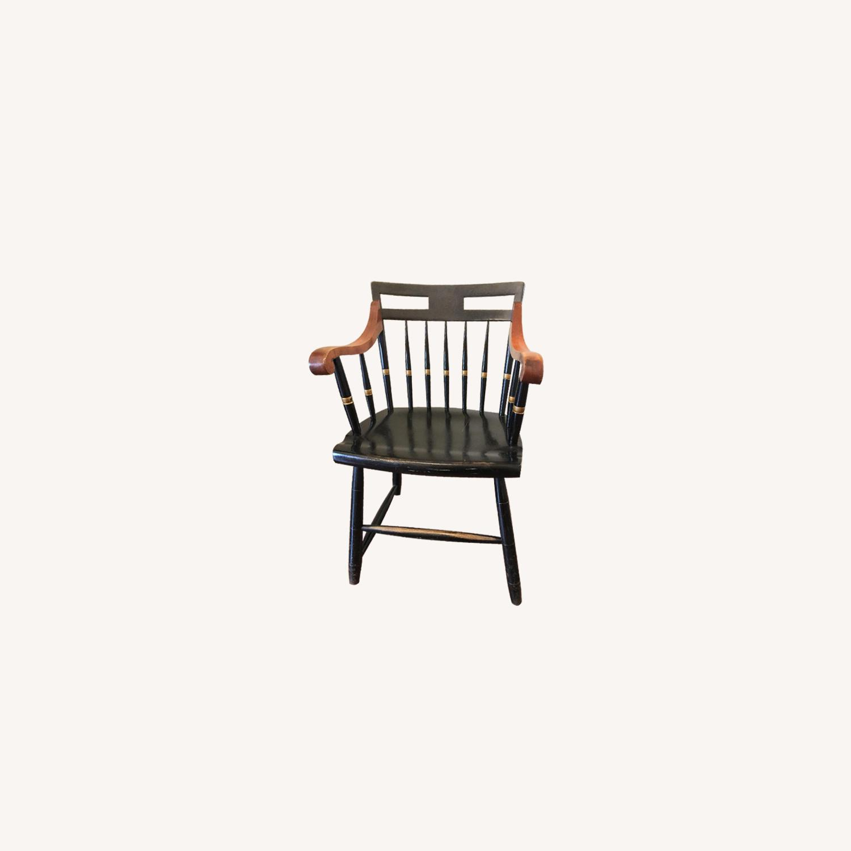 Vintage Nichols & Stone Windsor Harvard Chairs - image-0