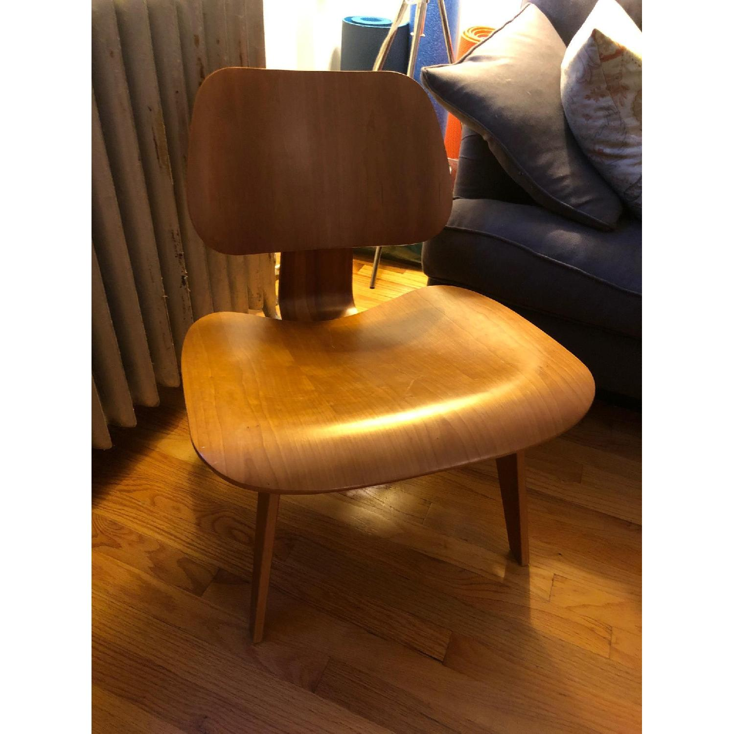 Herman Miller Eames LCW Walnut Chair - image-1