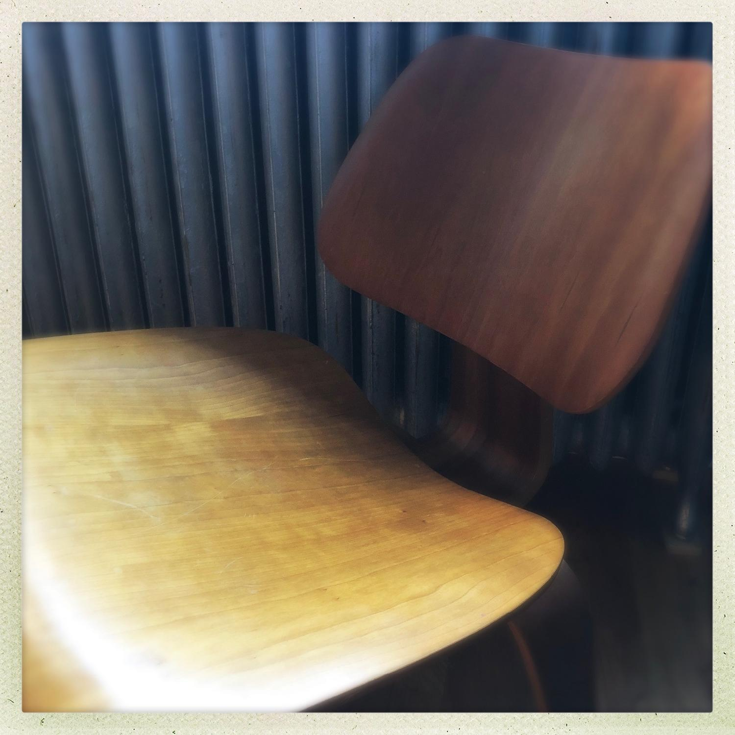 Herman Miller Eames LCW Walnut Chair - image-3