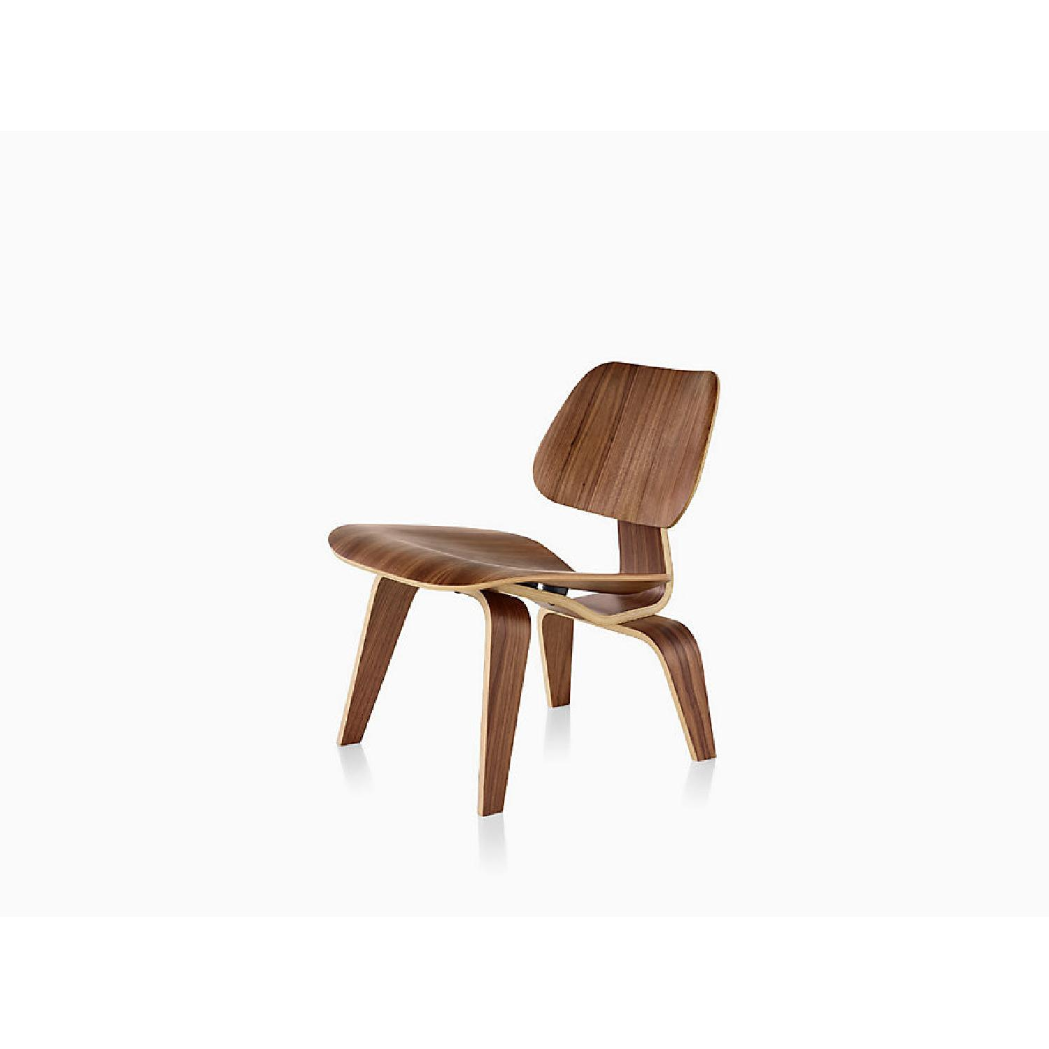 Herman Miller Eames LCW Walnut Chair - image-0