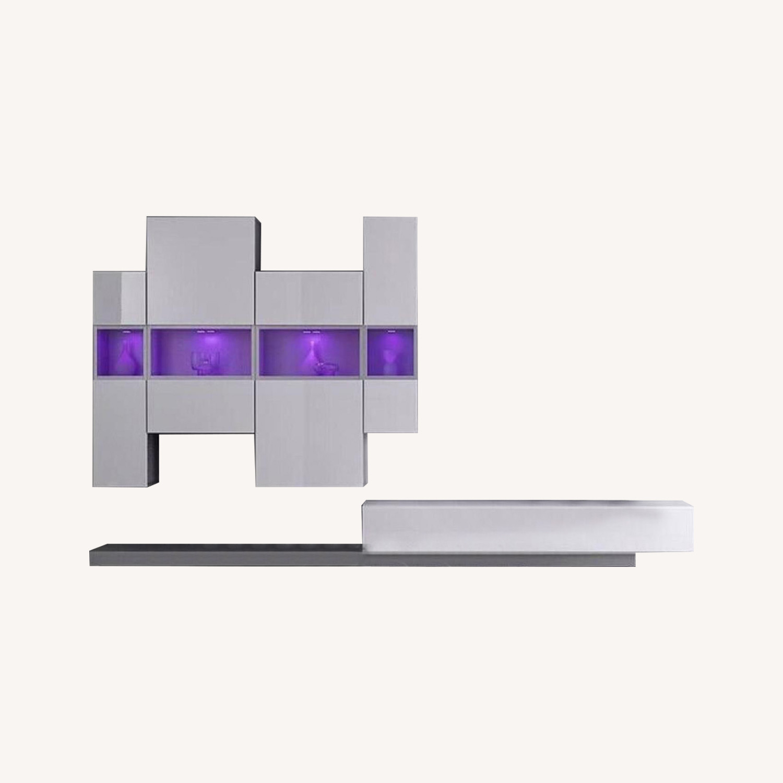 Gallery 124 European Modern Wall Unit