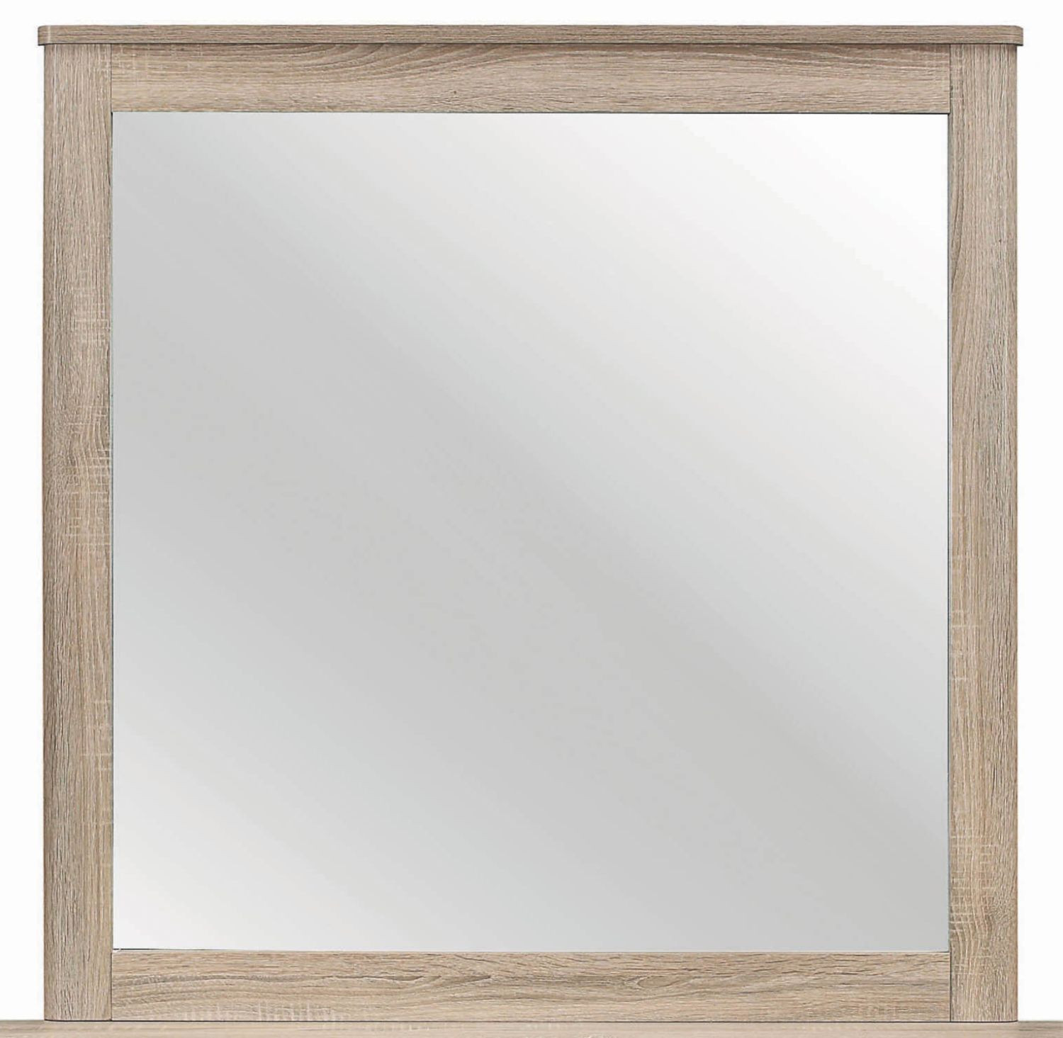 Mirror w/ Natural Finish Frame