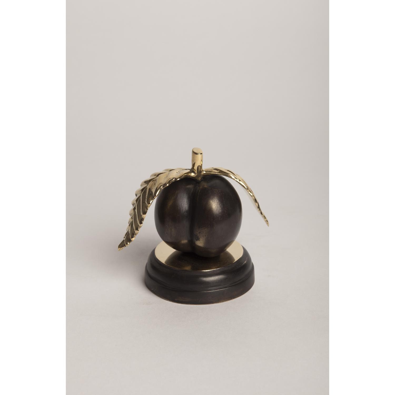 Peach Bronze Sculpture - image-1