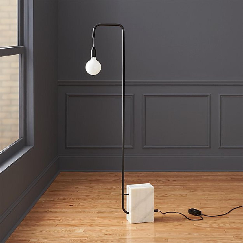 CB2 Marble Floor Lamp - image-1