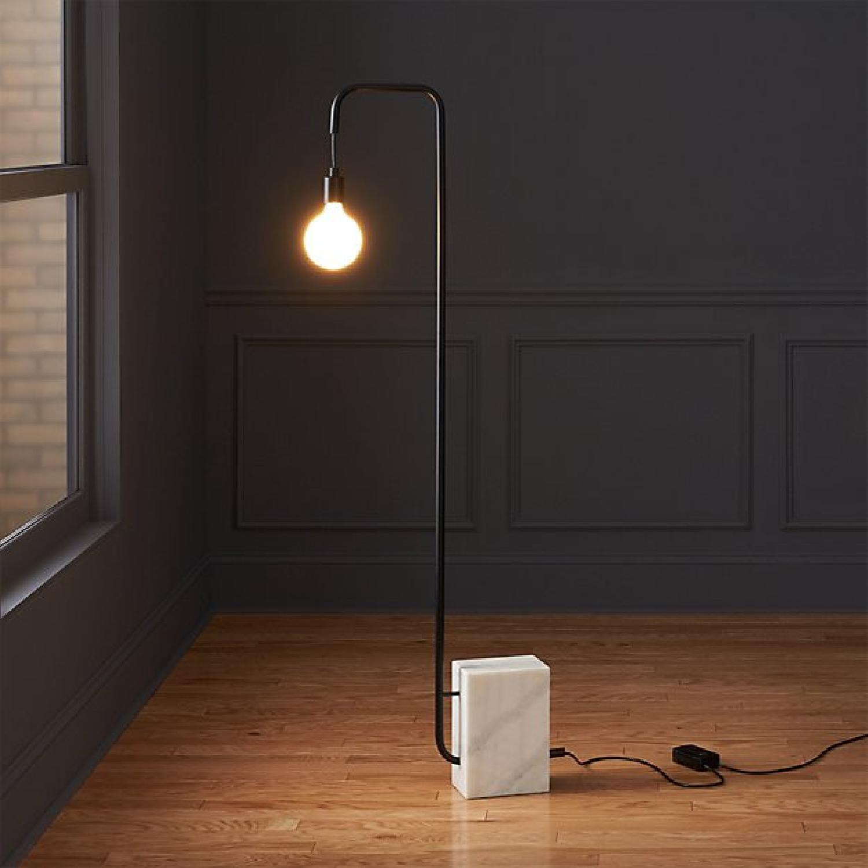 CB2 Marble Floor Lamp - image-2