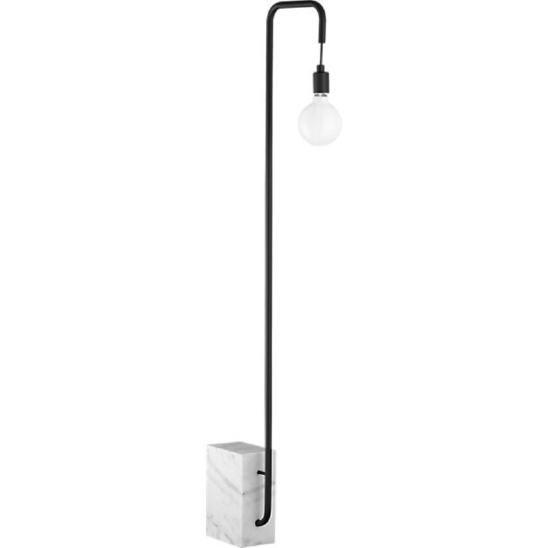 CB2 Marble Floor Lamp - image-0