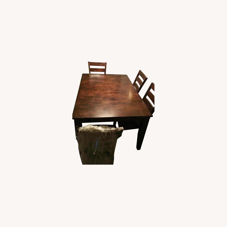 Raymour & Flanigan Kona 5-Piece Dining Set - image-0