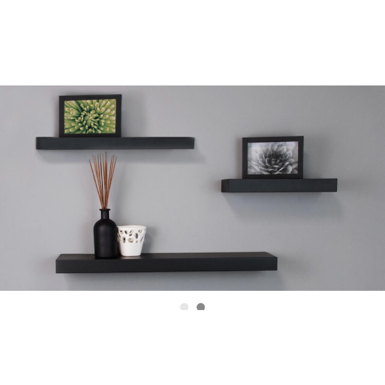 Black Floating Shelves - image-2