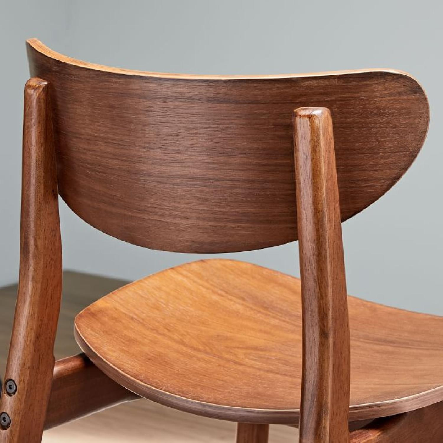 West Elm Classic Cafe Walnut Counter Stool - image-4