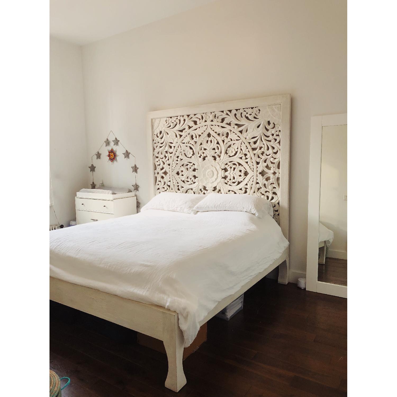 Anthropologie Lombok King Size Bed - image-0