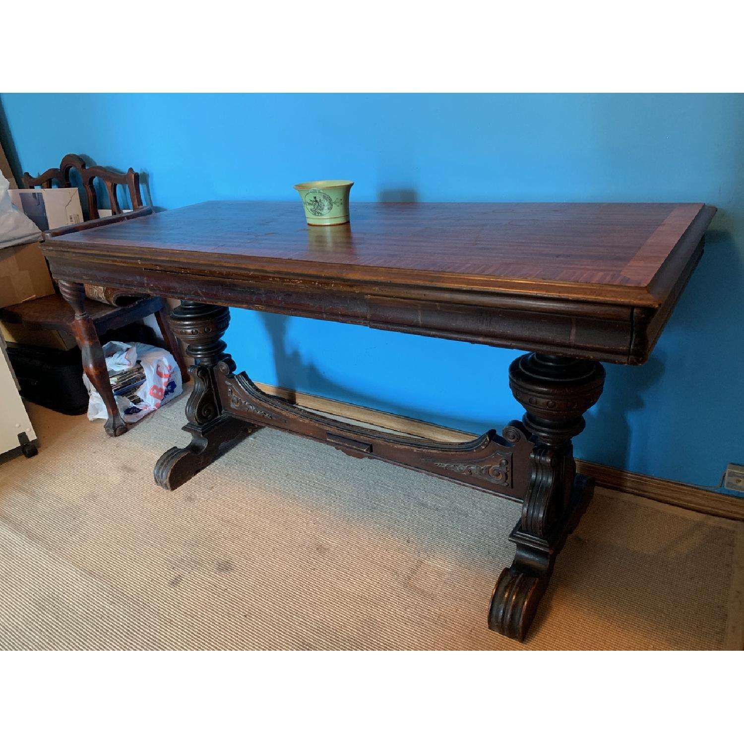 Antique Side/Sofa Table - image-0