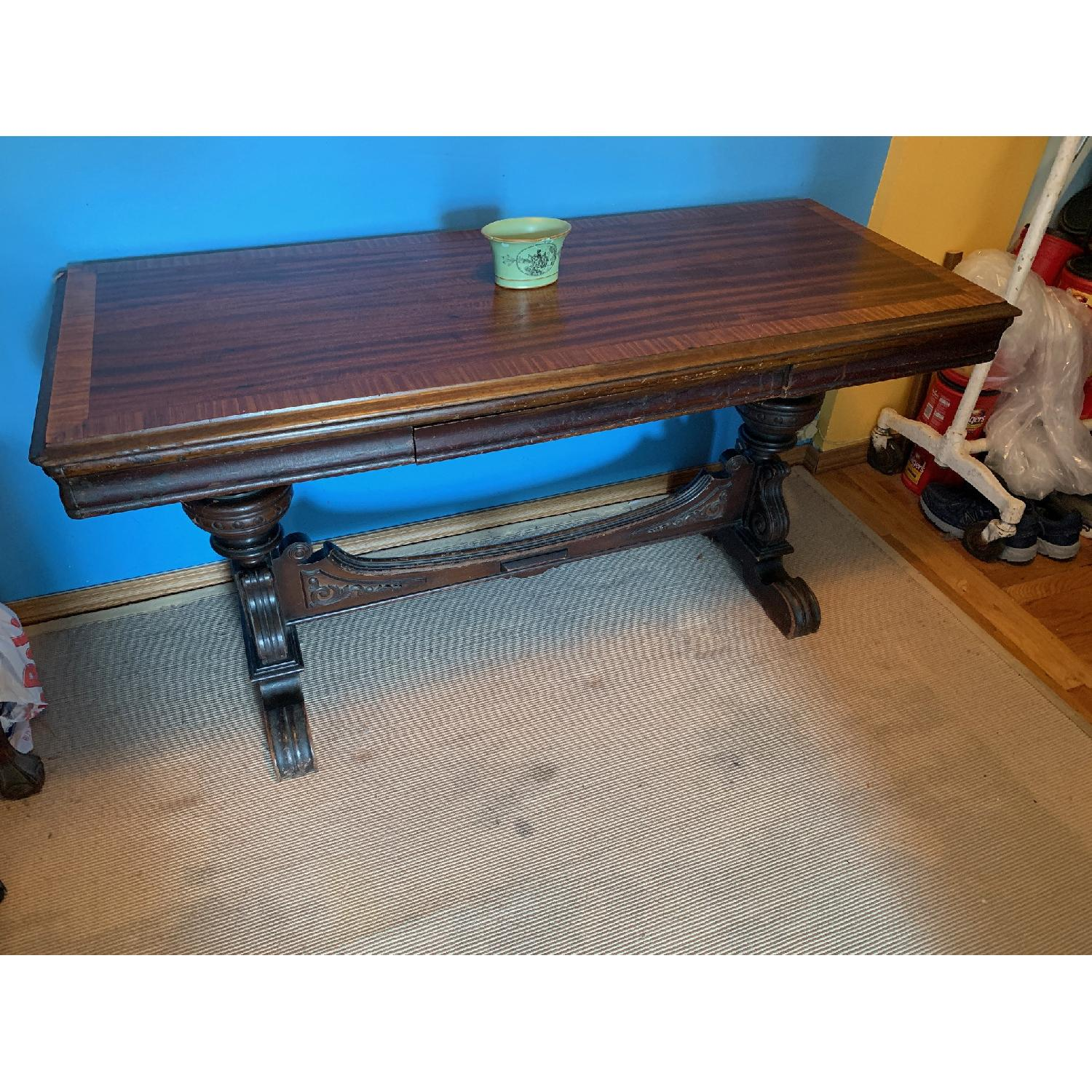 Antique Side/Sofa Table - image-1