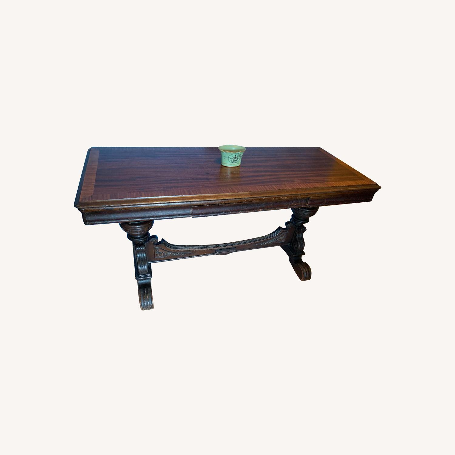 Antique Side/Sofa Table - image-7