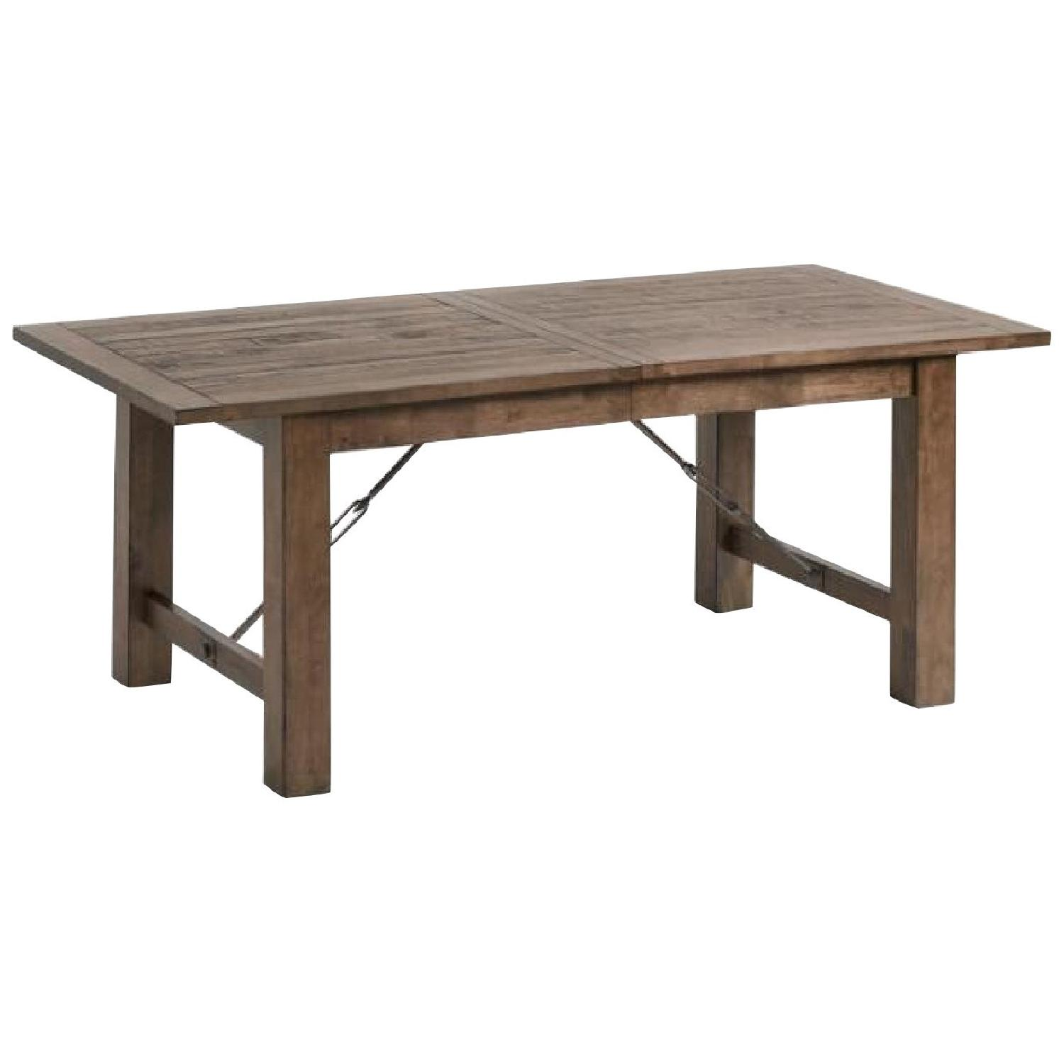 World Market Extension Table w/ 5 Chairs - image-0