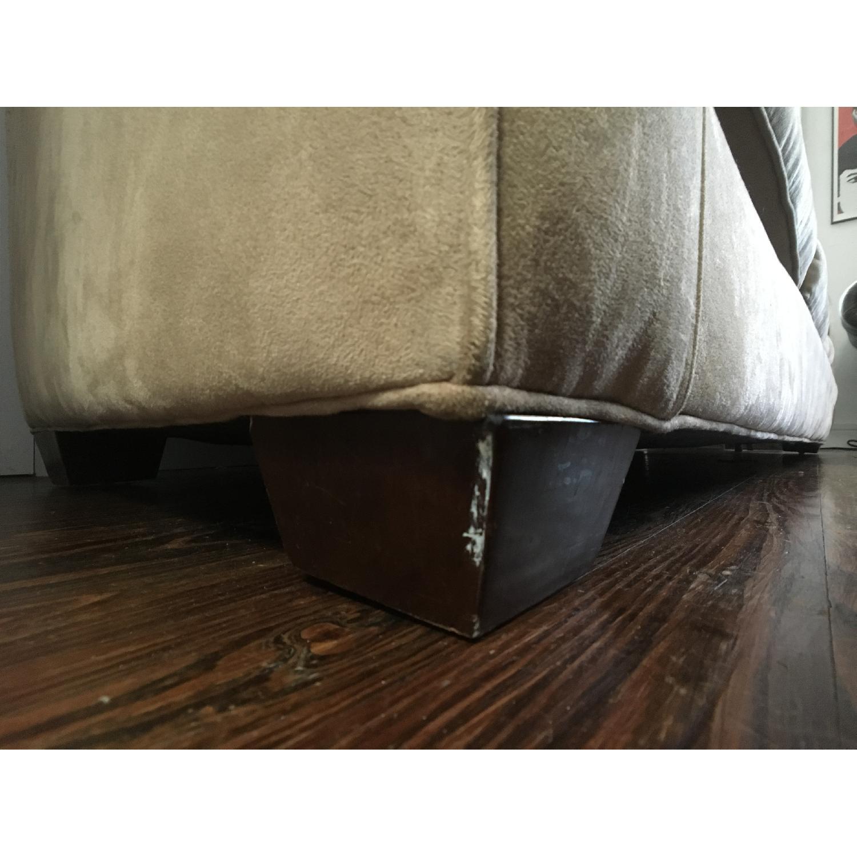 Crate & Barrel Cameron Sofa & Ottoman - image-7