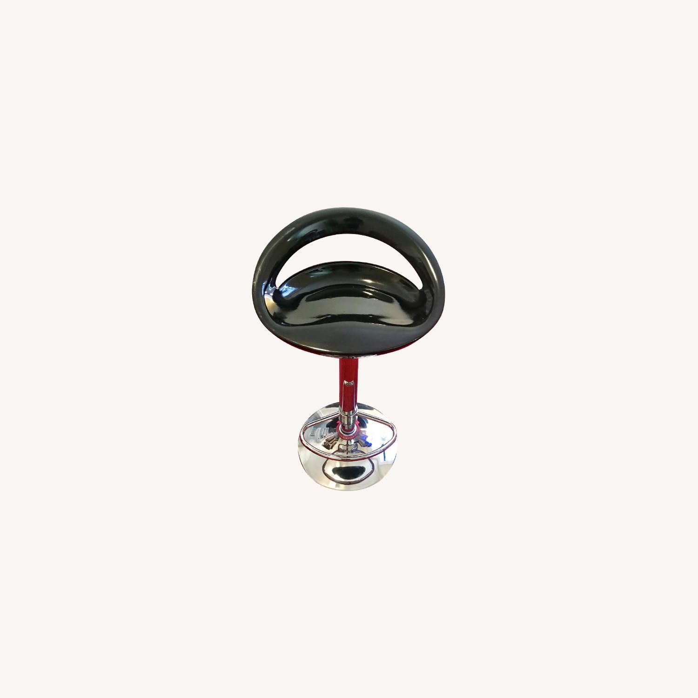 Pneumatic Adjustable Height Swivel Bar Stools - image-0