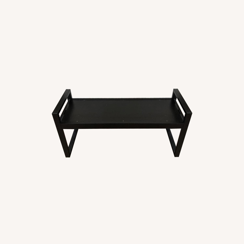 Ikea Black Bench