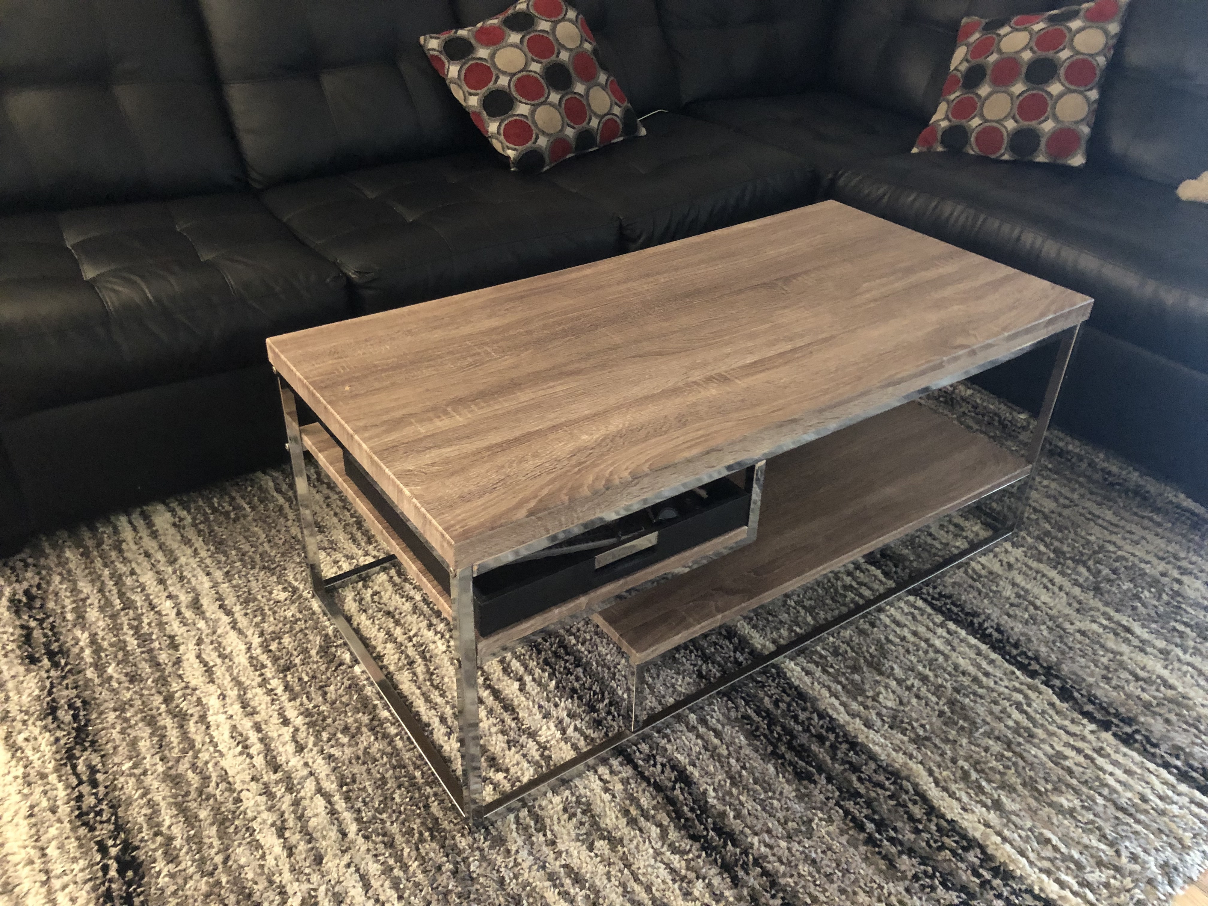 Ethan Allen White-Wash Coffee table