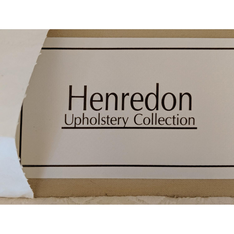 Henredon Ivory Brocade Overstuffed Sofa - image-6