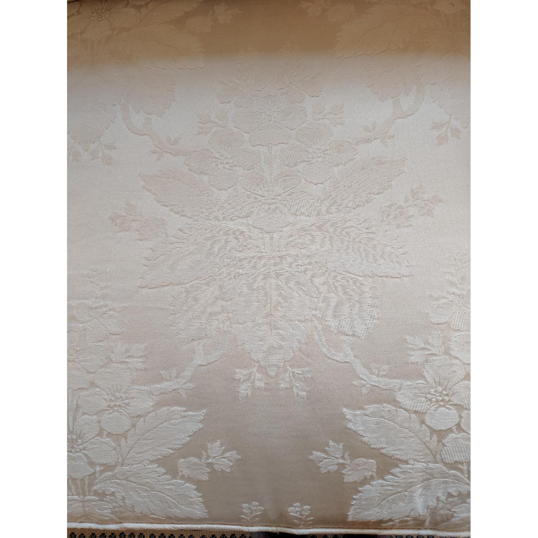 Henredon Ivory Brocade Overstuffed Sofa - image-10