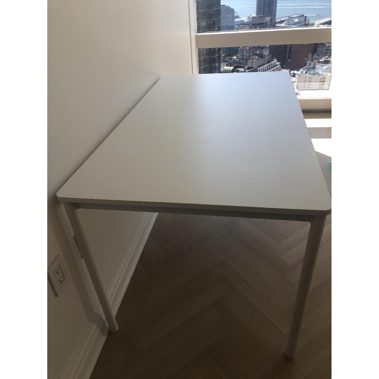 Muuto Matte White Desk/Dining Table - image-7