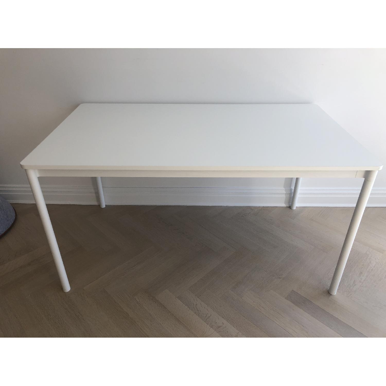 Muuto Matte White Desk/Dining Table - image-0