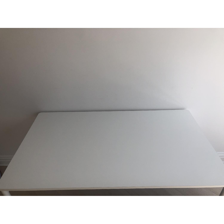Muuto Matte White Desk/Dining Table - image-8