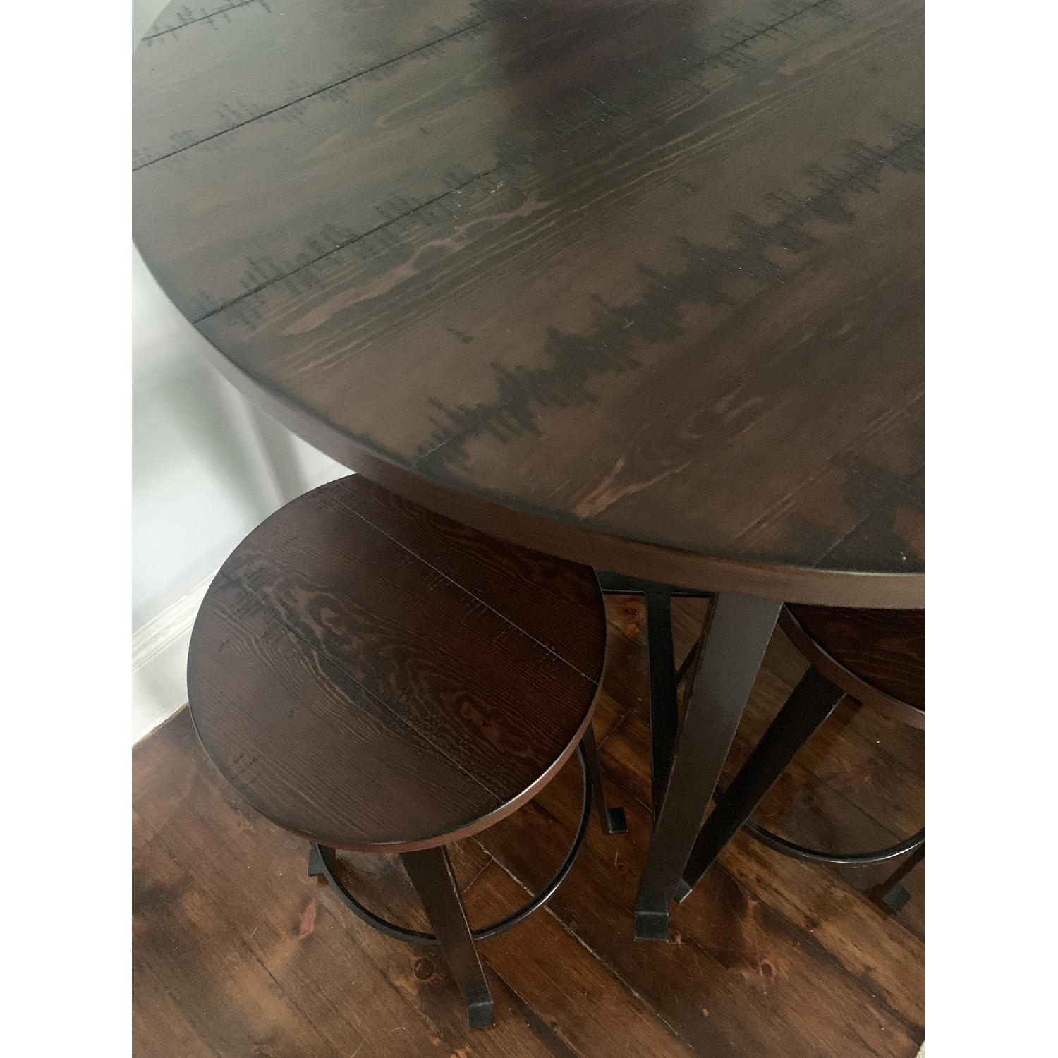 Ashley Challiman Pub Height Dining Table w/ 4 Stools - image-3