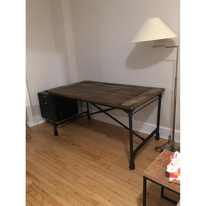 Restoration Hardware Flatiron Desk - image-3
