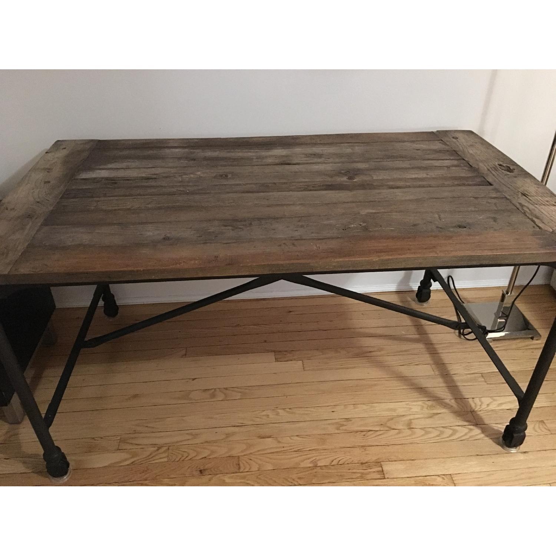 Restoration Hardware Flatiron Desk - image-4