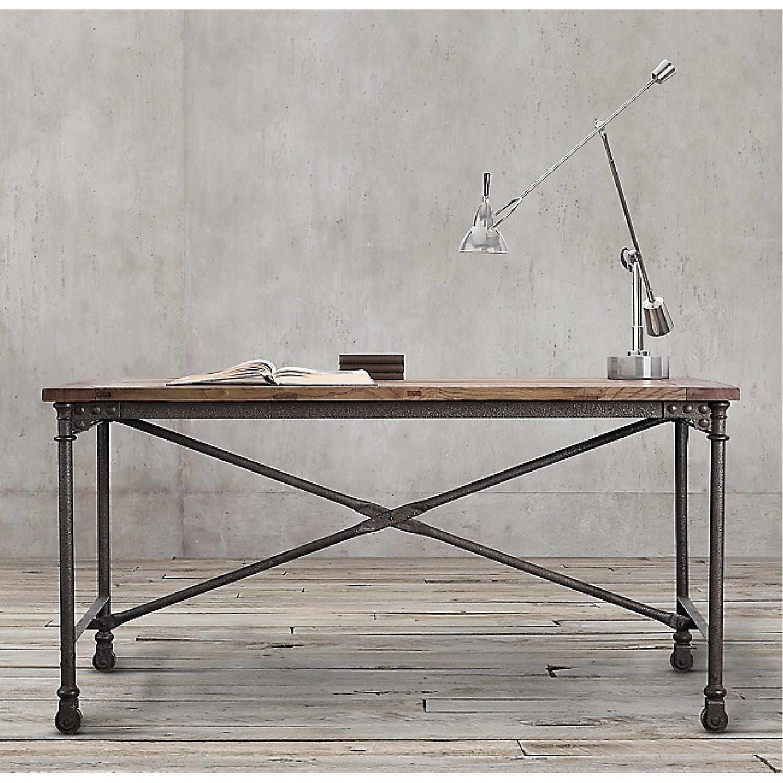 Restoration Hardware Flatiron Desk - image-5